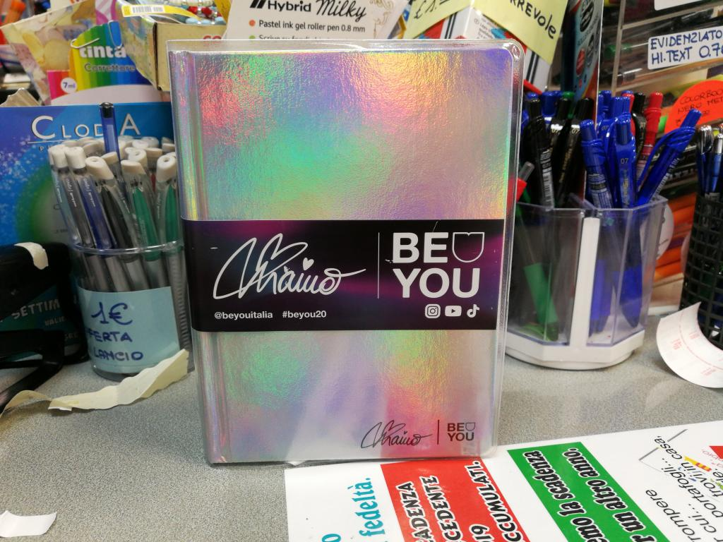 Diario Be You Limited Edition Maino