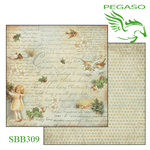 Carta per scrapbooking double face - SBB...