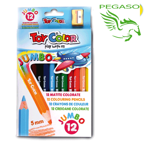 Pastelli Toy Color Jumbo