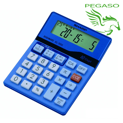 Calcolatrice Sharp Quiz Calc - ELSI MATE EL-S50