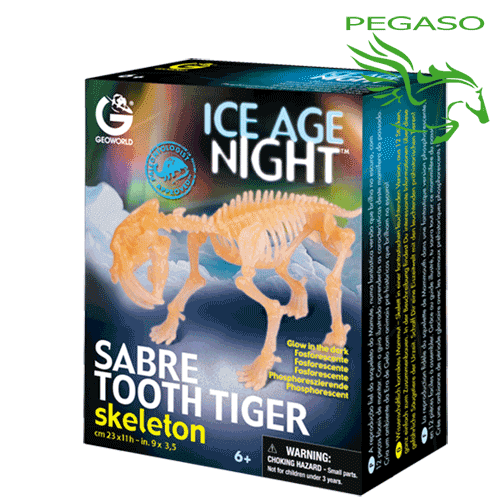 Ice Age Night - Sabre Tooth tiger