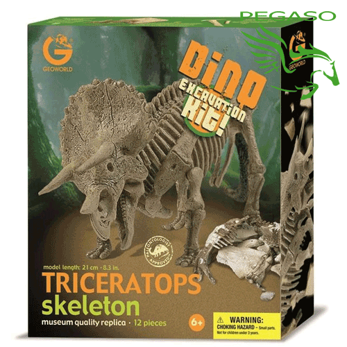 Dino excavation kit - Triceratops