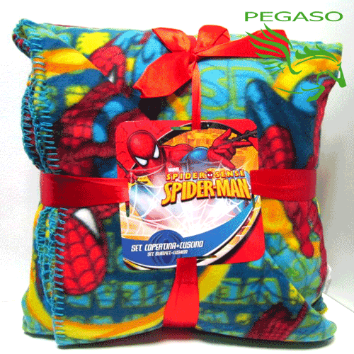Set Cuscino + plaid Spiderman