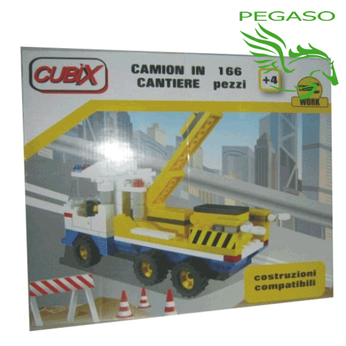 CUBIX - Camion in cantiere