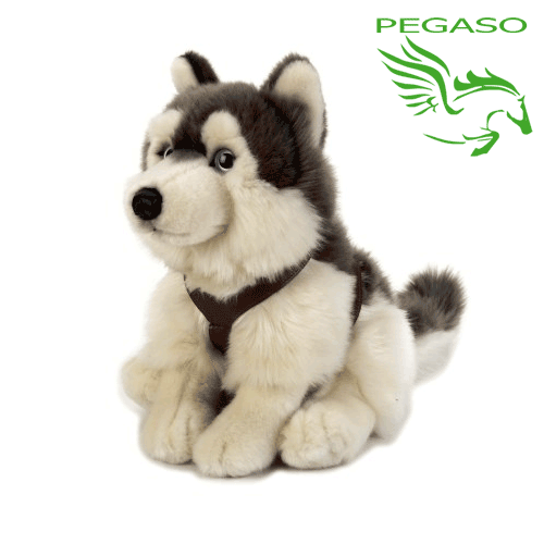 Peluche lupo hasky