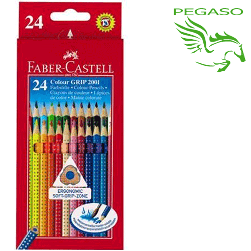 Pastelli Faber-Castell Coluor Grip 24