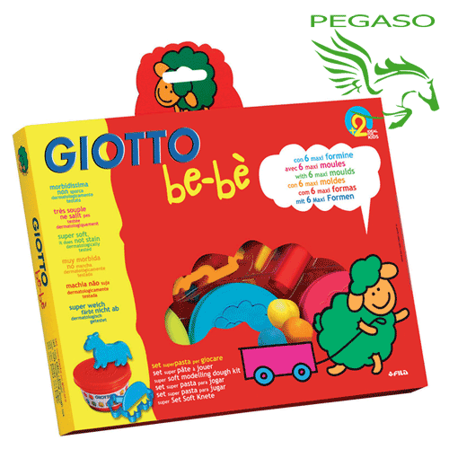 Giotto Bebè - Set super pasta
