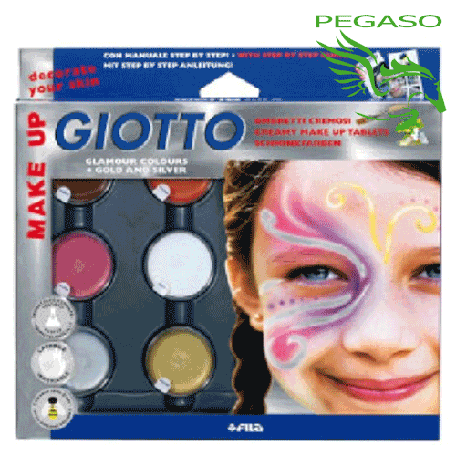 Ombretti cremosi Giotto Make Up - Tinte glamour