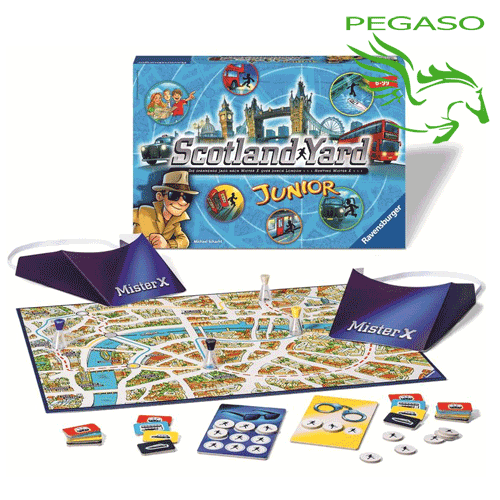 Gioco Scotland Yard Junior