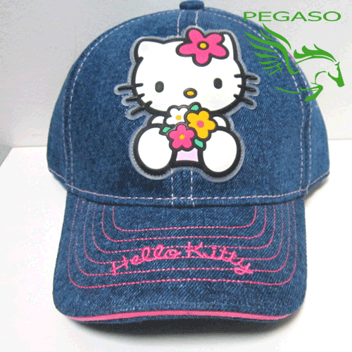 Cappellino con visiera Hello Kitty