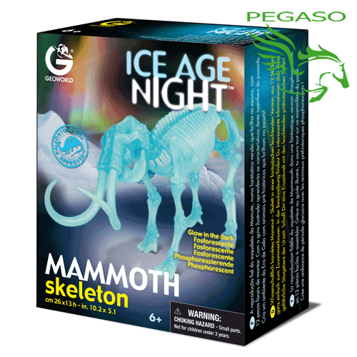 Ice Age Night - Mammoth skeleton
