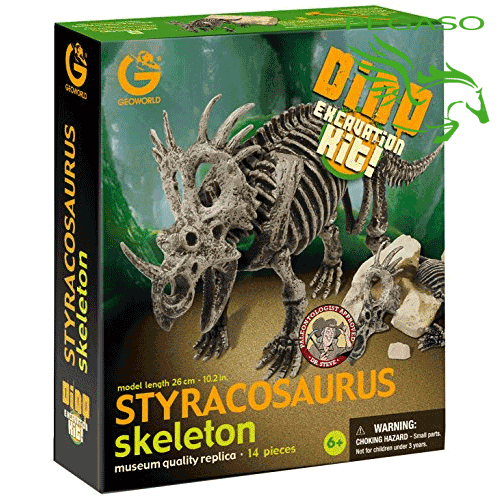 Dino excavation kit - Styracosaurus