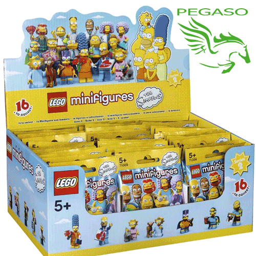 Lego Minifigures - The Simpsons