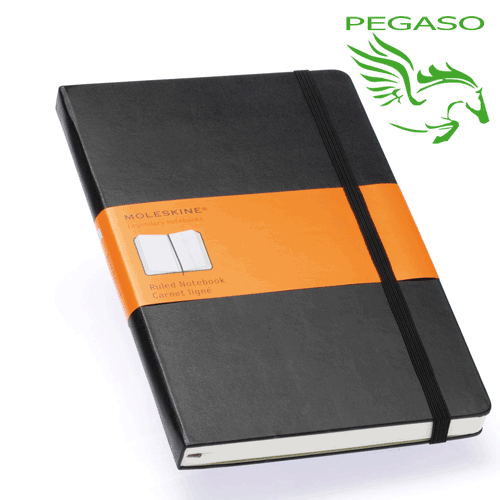 Taccuino Plain Notebook - Large Ruled