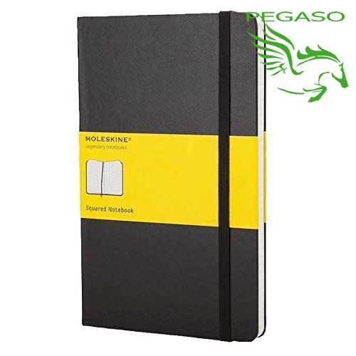 Taccuino Plain Notebook - Large Squared