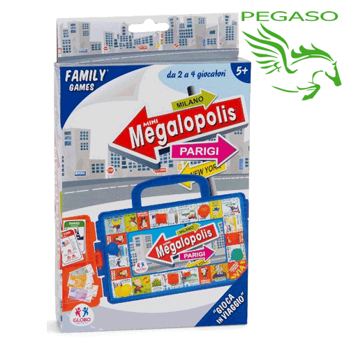 Travel game - Megalopolis