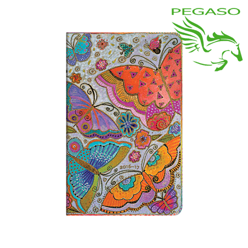 Agenda Accademica 2016-2017 Paperblanks Maxi settimanale - FlutterByes