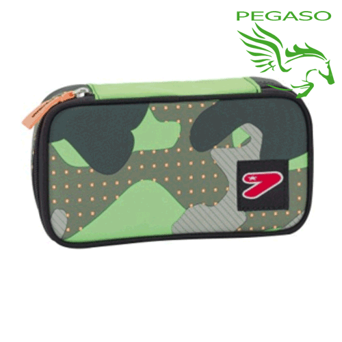 Busta Seven Round Plus Big - Colour Camouflage - Military green