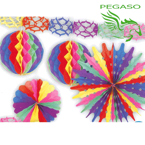 Set Festoni decorativi - Multicolor - PB919M