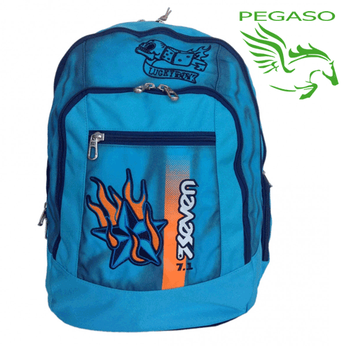 Zaino Seven Advanced Color Boy unica Azzurro