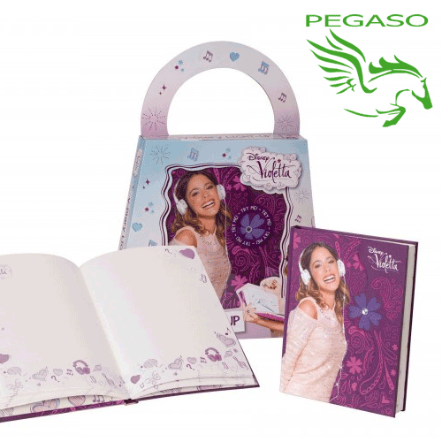 Diario Light-up di Violetta