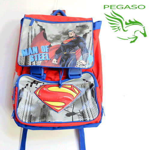 Zaino Estensibile Superman Kids